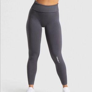 Gymshark power down leggings Charcoal